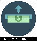 Κάντε click στην εικόνα για μεγαλύτερο μέγεθος.  Όνομα:Finance_insert_money_dollar_bill-512.png Προβολές:365 Μέγεθος:26,0 KB ID:383110