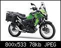 Κάντε click στην εικόνα για μεγαλύτερο μέγεθος.  Όνομα:Kawasaki-Versys-X-300-green-accessorized-R3qtr.jpg Προβολές:395 Μέγεθος:78,5 KB ID:376235