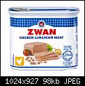 Κάντε click στην εικόνα για μεγαλύτερο μέγεθος.  Όνομα:Zwan-Chicken-Luncheon-Meat-340g.jpg Προβολές:402 Μέγεθος:98,4 KB ID:421124