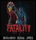 Κάντε click στην εικόνα για μεγαλύτερο μέγεθος.  Όνομα:1546673375_MK_Fatality_Tshirt_SquareImage.jpg Προβολές:213 Μέγεθος:81,5 KB ID:409806